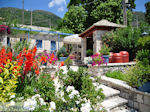 Tuin hotel Porfyron in Ano Pedina foto 2 - Zagori Epirus - Foto van De Griekse Gids