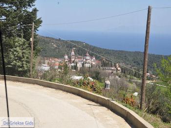 Met de bus van Dafni naar Karyes foto 2 | Athos gebied Chalkidiki | Griekenland - Foto van De Griekse Gids